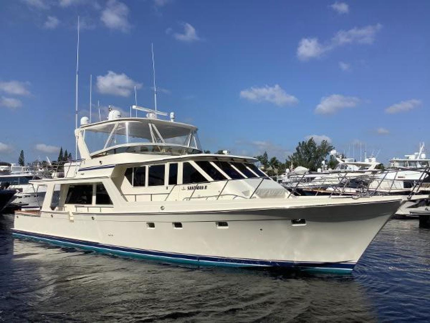 2001 Offshore Yachts 62' 62 Pilot House Sandman II | Picture 1 of 31