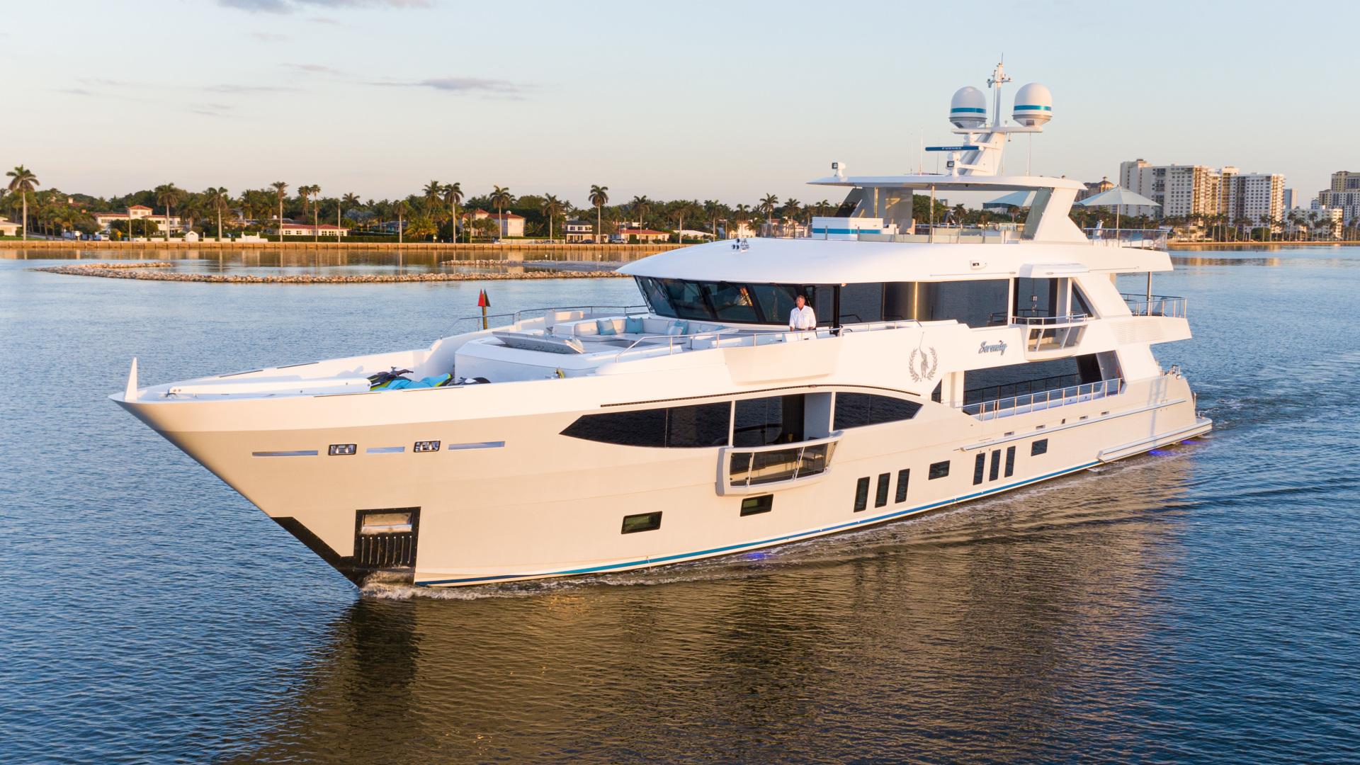 133' IAG 2016 Motor Yacht SERENITY