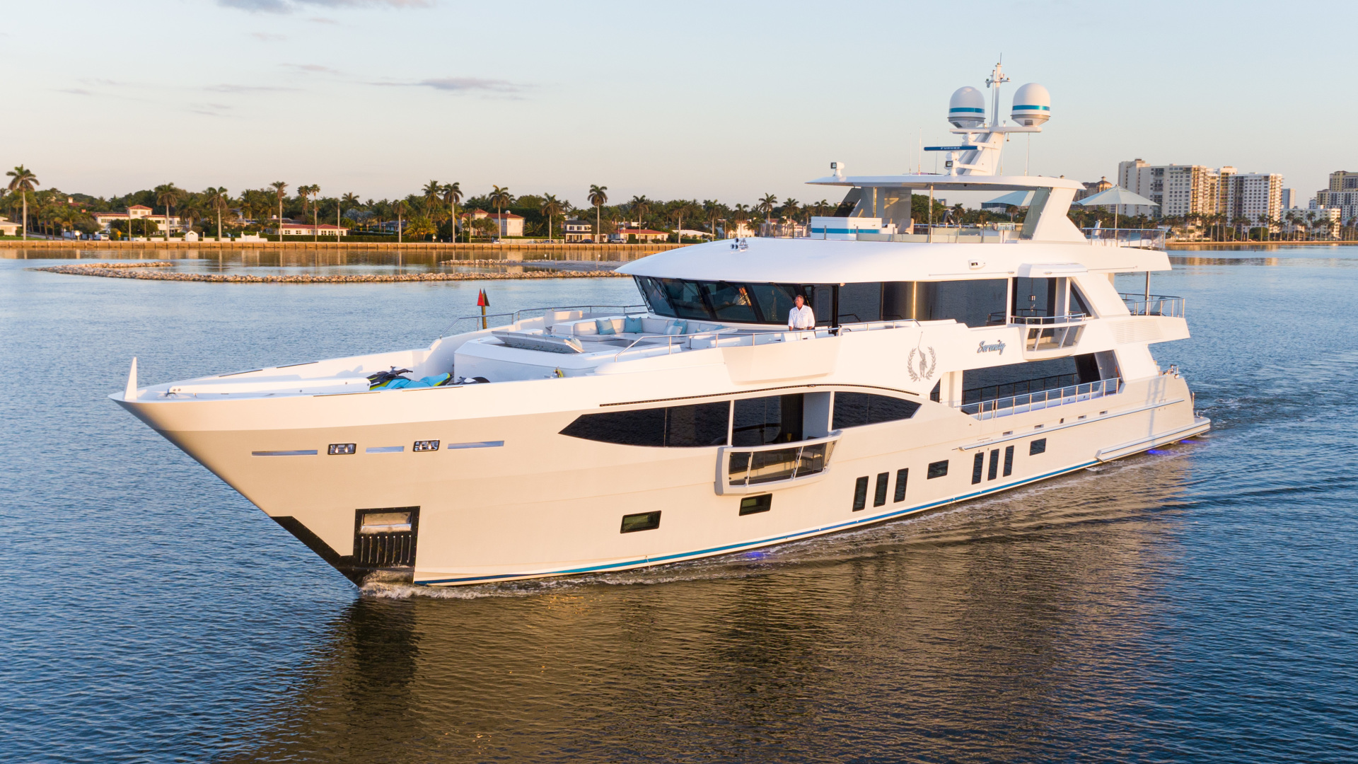 "2016 IAG 133' Motor Yacht ""SERENITY"""