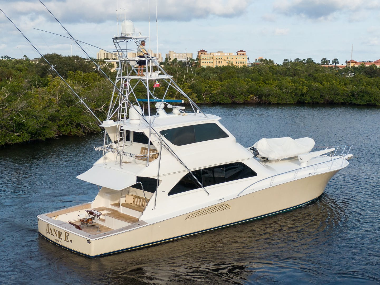 2007 Viking 74' Enclosed JANE E | Picture 1 of 60