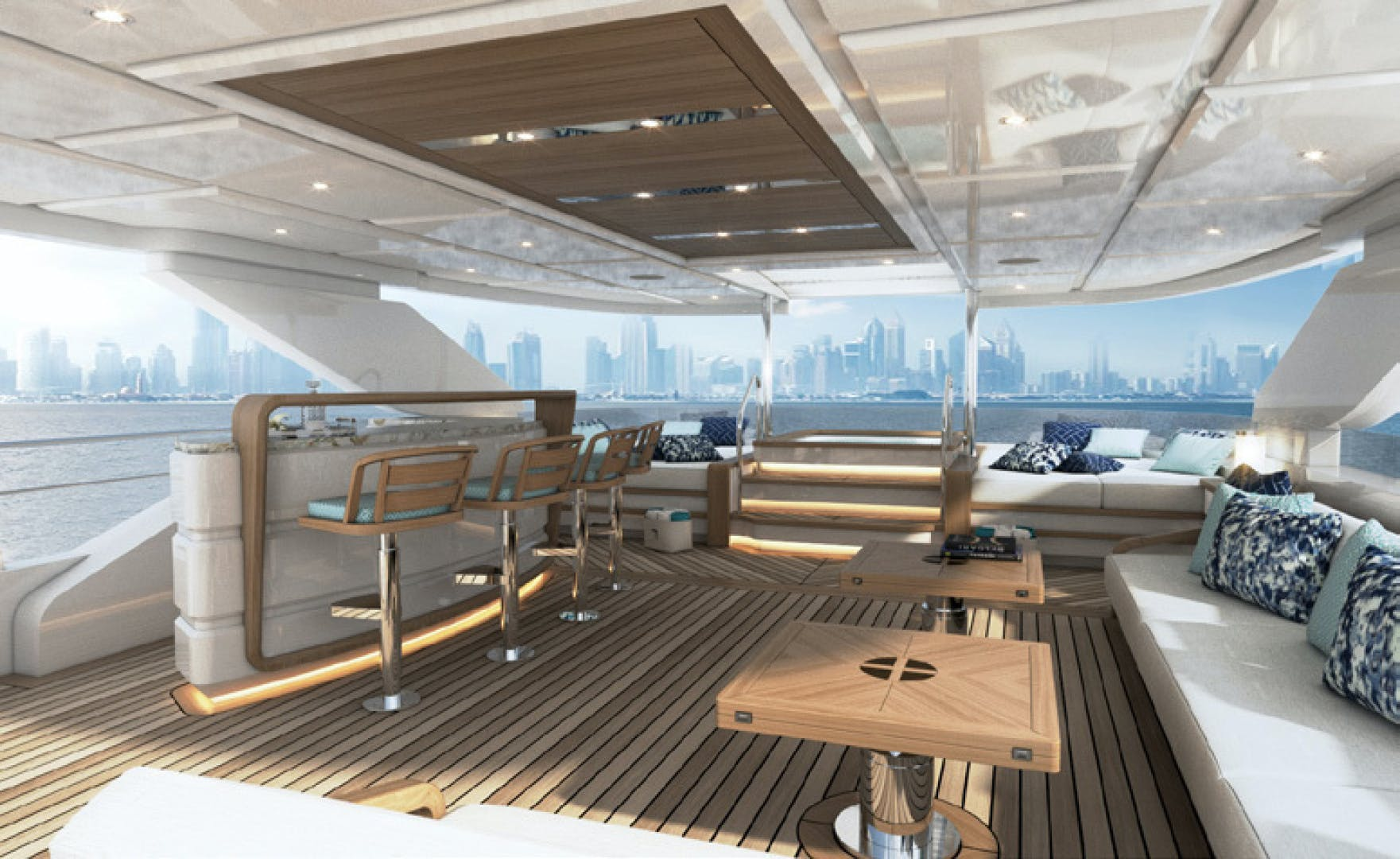 2020 Majesty Yachts 120' Tri-Deck MAJESTY 120 | Picture 6 of 26