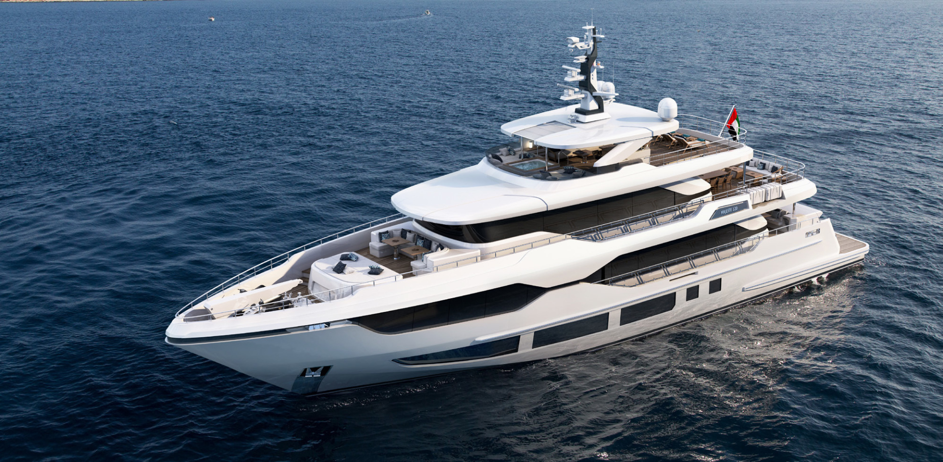 "2020 Majesty Yachts 120' Tri-Deck ""MAJESTY 120"""