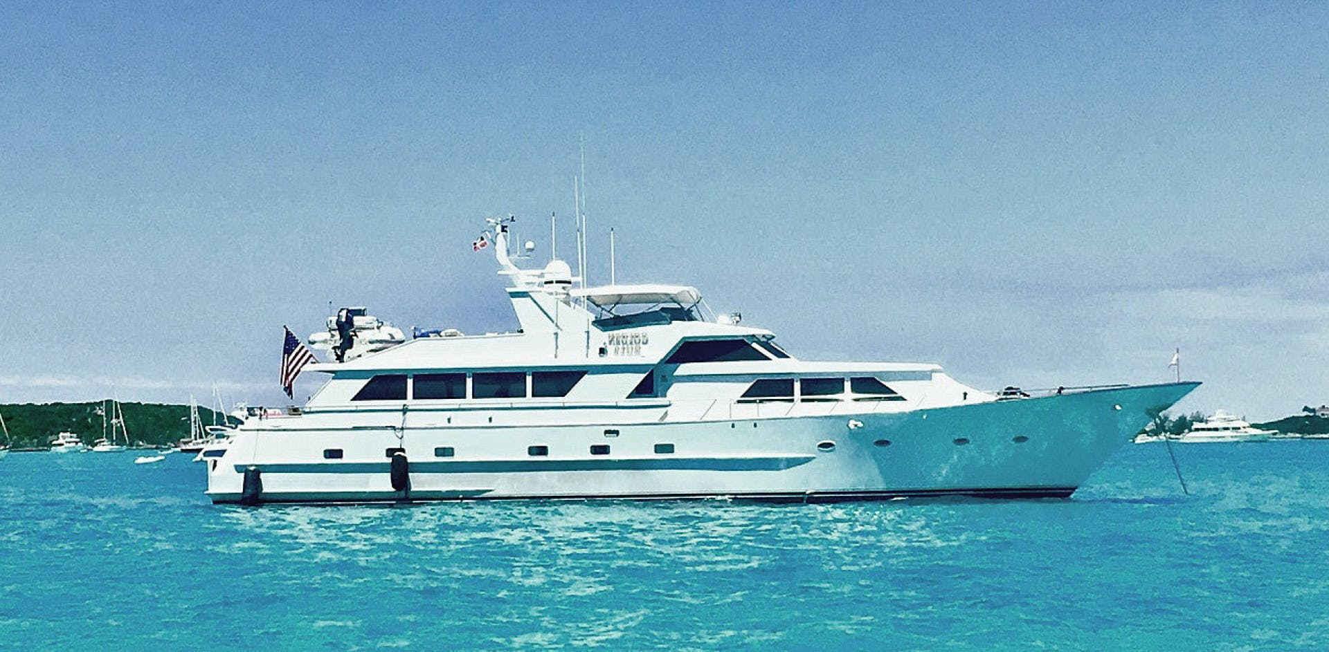 1988 Broward 97' Pilothouse GOLDEN RULE   Picture 1 of 29
