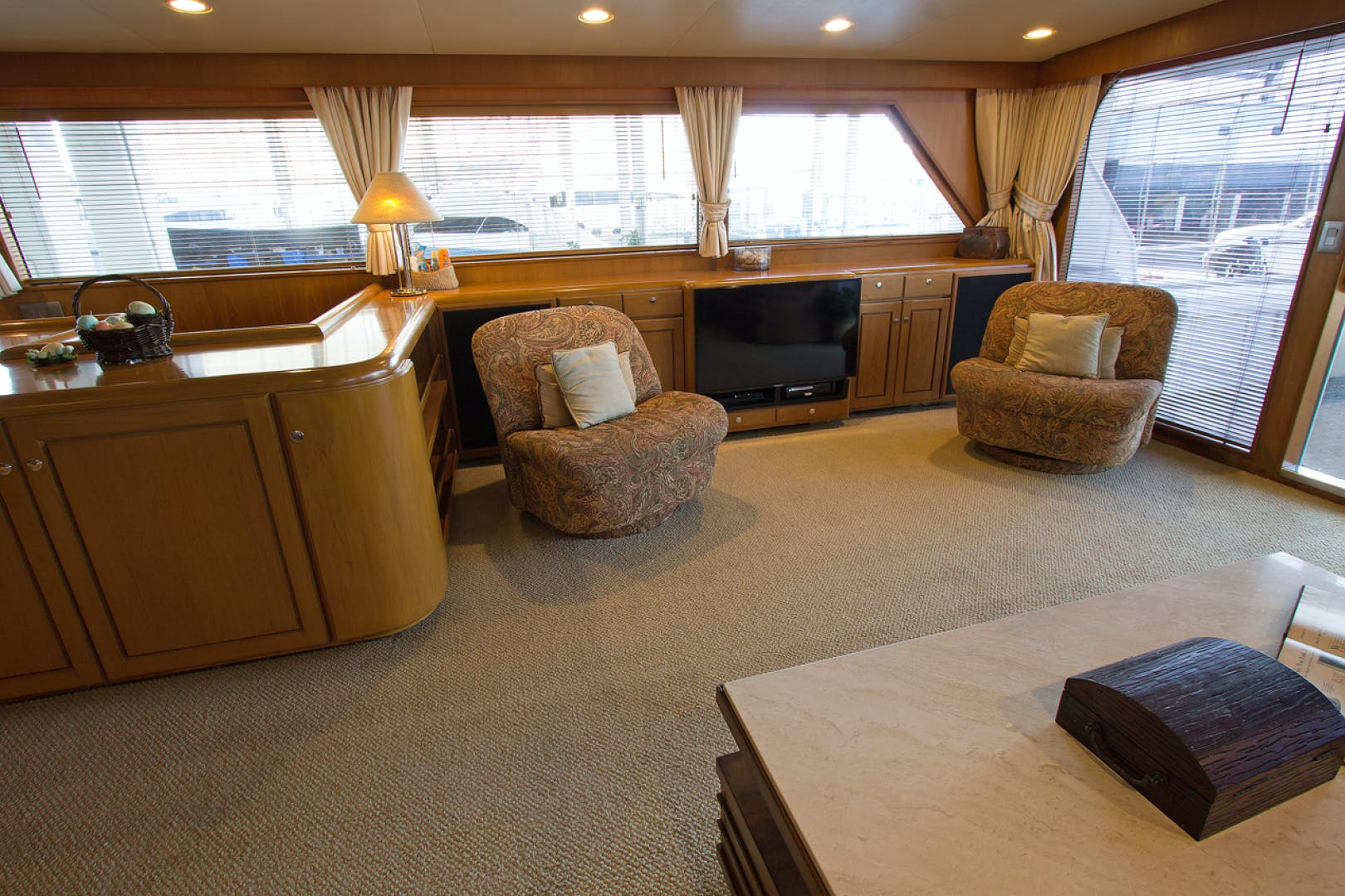 1988 Broward 97' Pilothouse GOLDEN RULE   Picture 3 of 29