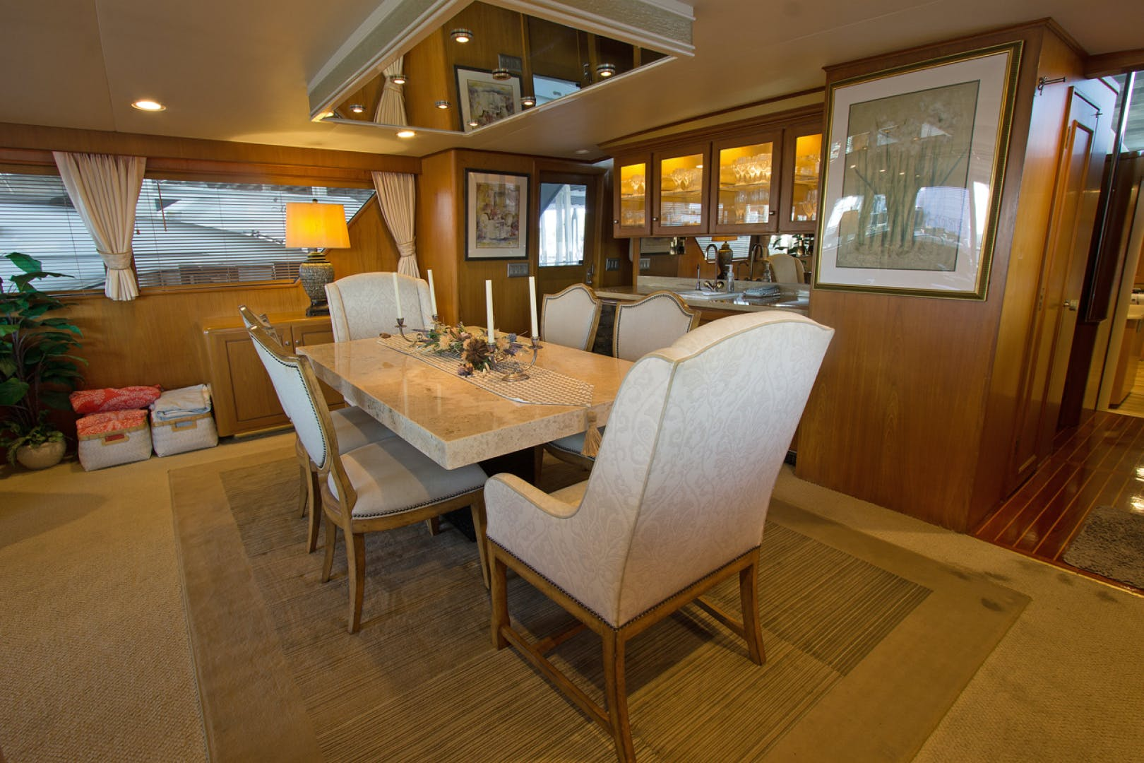 1988 Broward 97' Pilothouse GOLDEN RULE   Picture 5 of 29