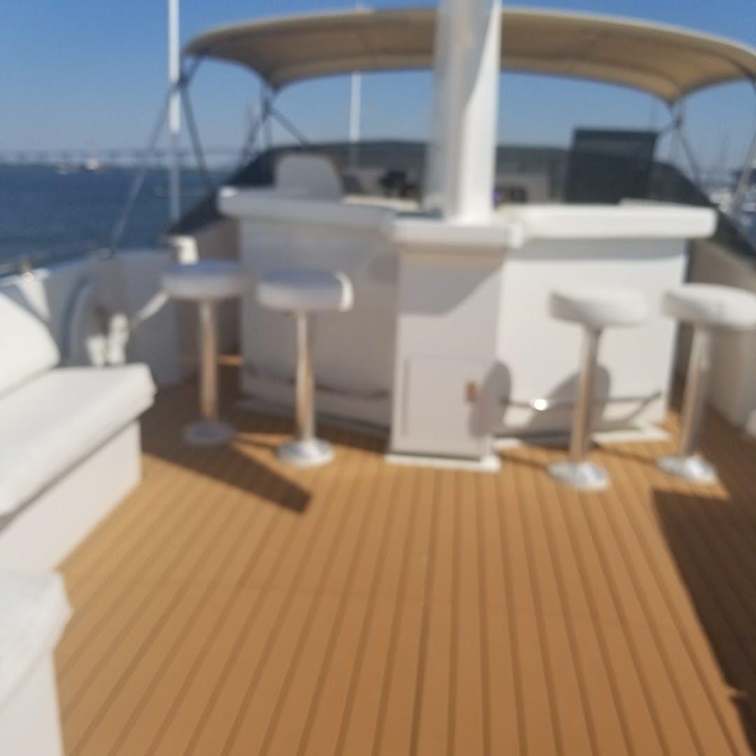 1989 Hatteras 74' Cockpit Motor Yacht Carolina Wind | Picture 3 of 17