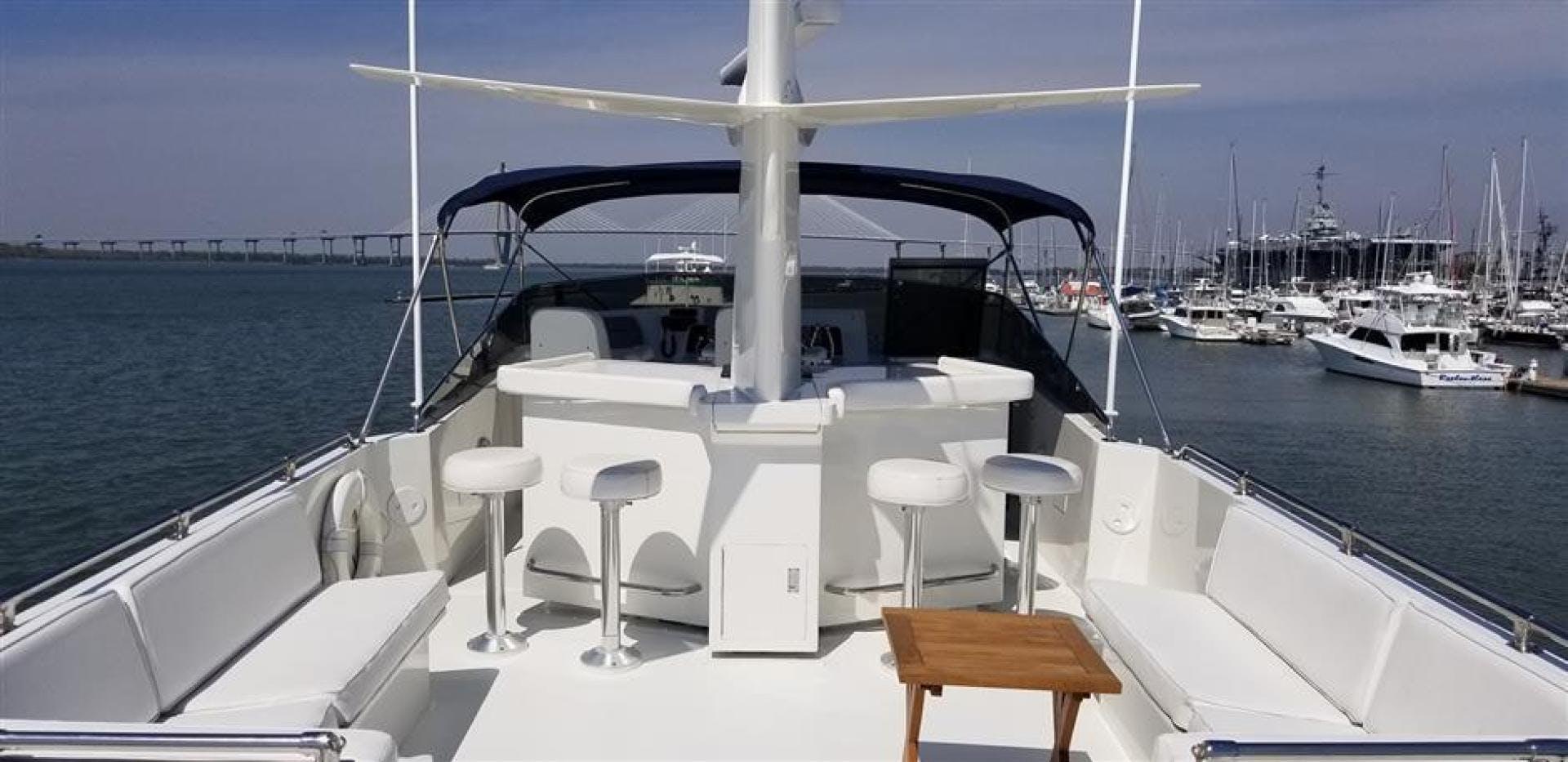 1989 Hatteras 78' Cockpit Motor Yacht Carolina Wind | Picture 4 of 9