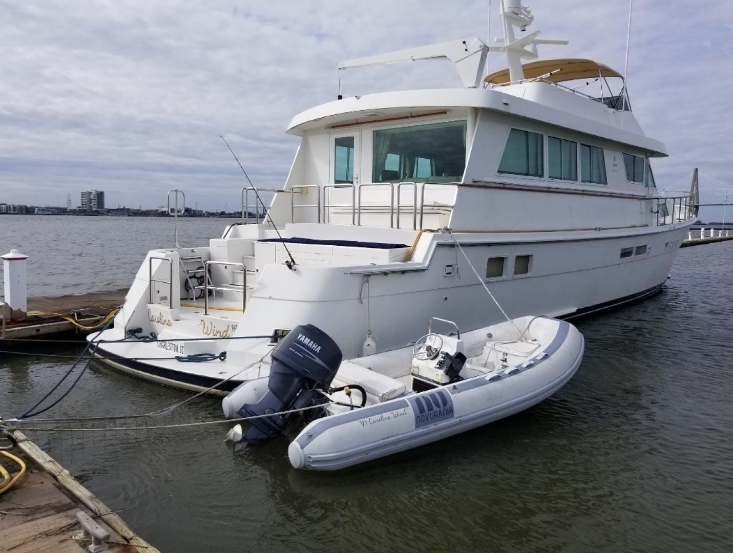 1989 Hatteras 78' Cockpit Motor Yacht Carolina Wind | Picture 3 of 9