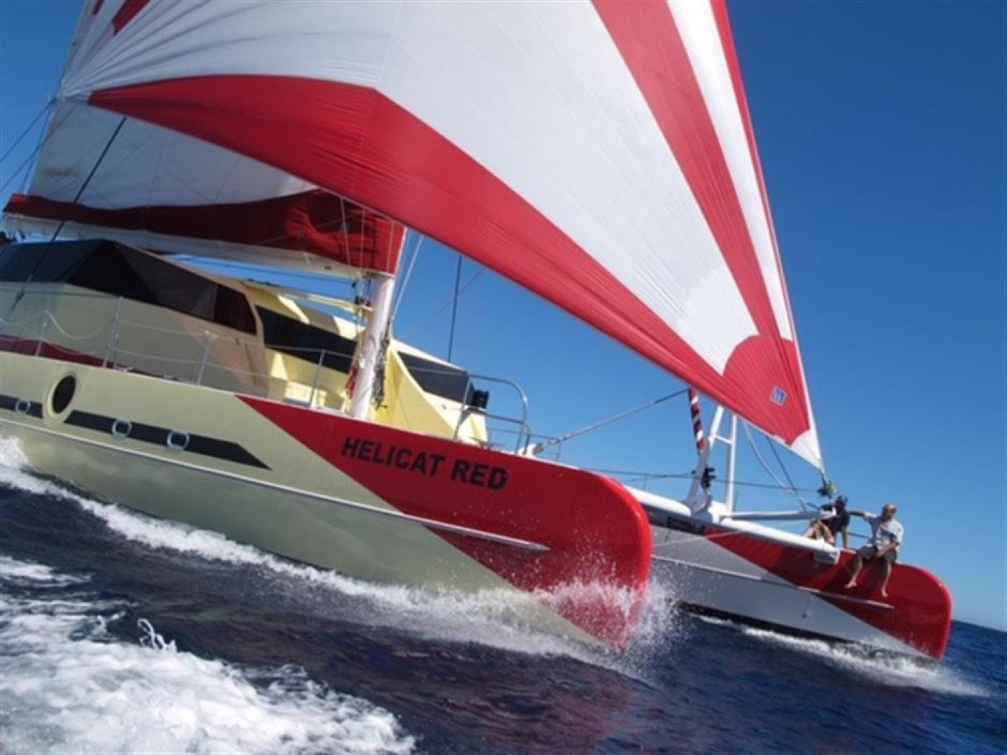2010 Fountaine Pajot 77' Catamaran Helicat Red | Picture 5 of 48