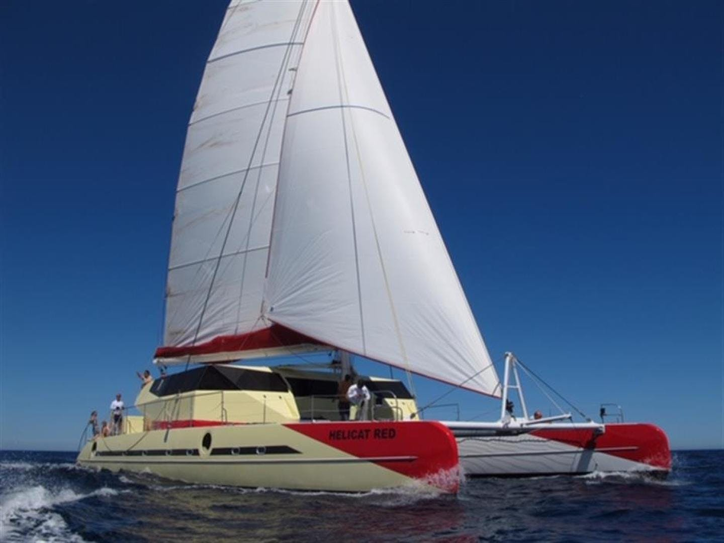 2010 Fountaine Pajot 77' Catamaran Helicat Red | Picture 1 of 48
