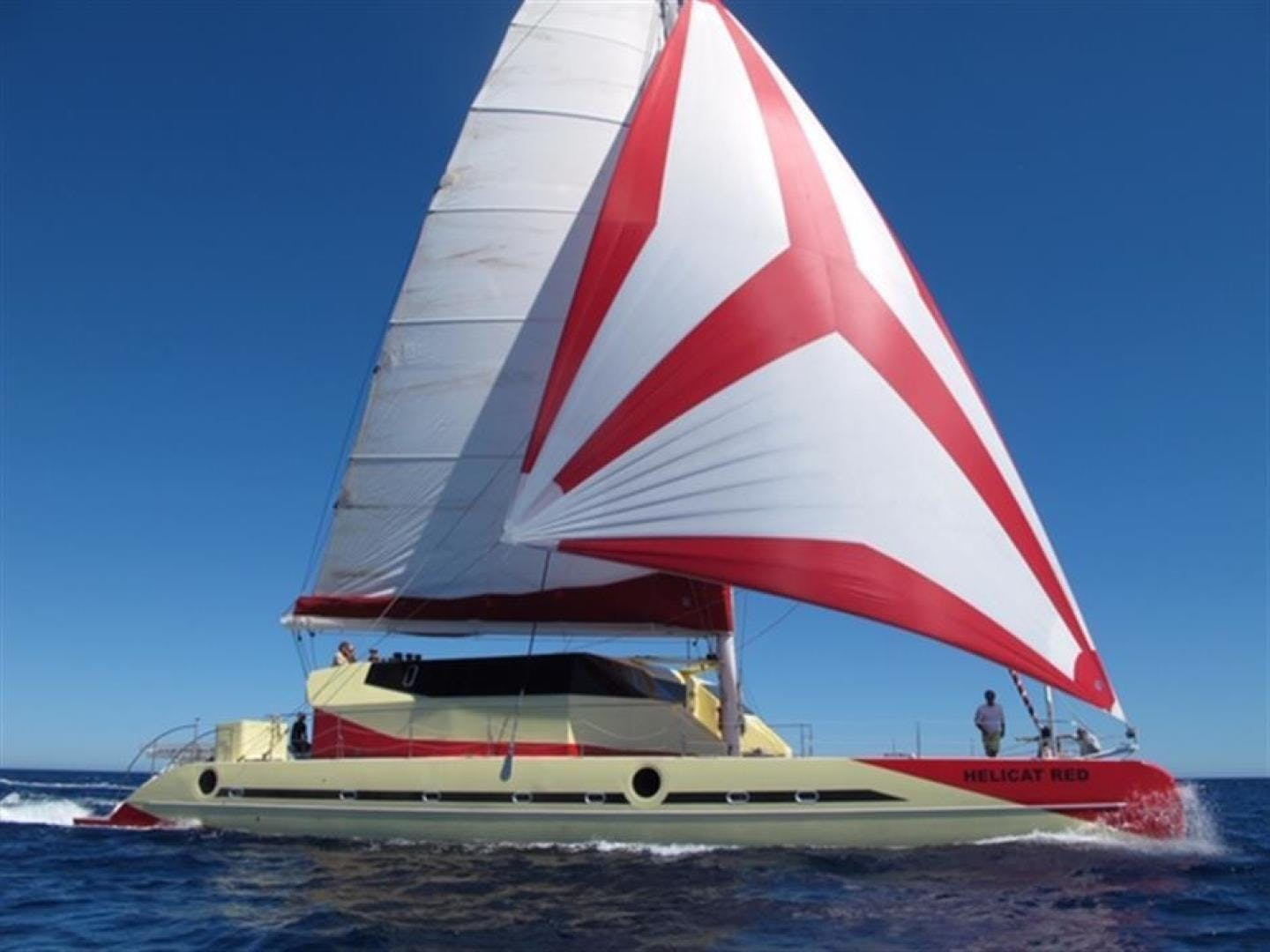 2010 Fountaine Pajot 77' Catamaran Helicat Red | Picture 3 of 48
