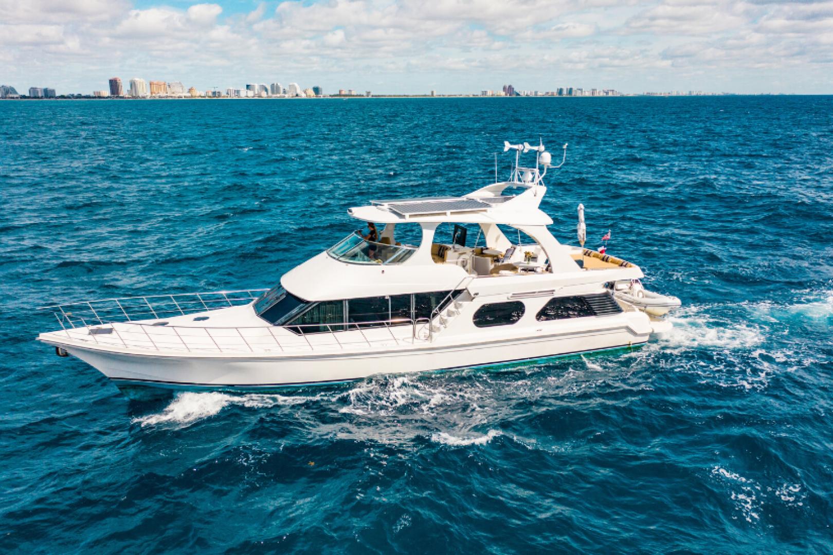 "2009 Bluewater Yachts 65' 65 Motor Yacht ""Half Mine"""