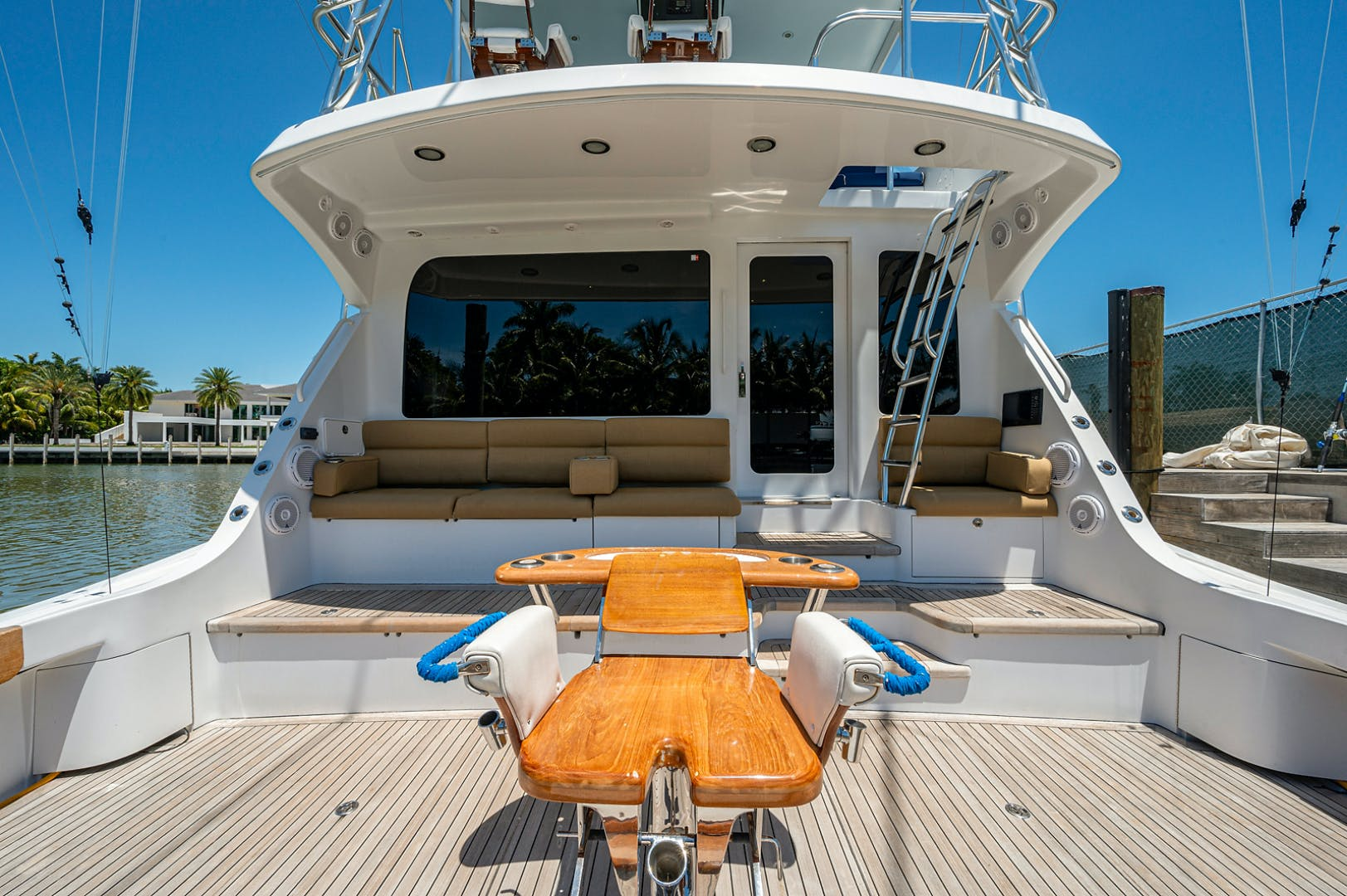 2005 Hatteras 68' Convetible 5 J's   Picture 1 of 54