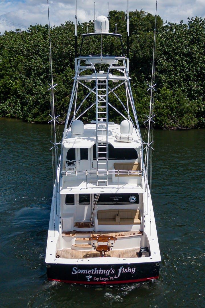 2015 Viking 70' Enclosed Bridge SOMETHING'S FISHY | Picture 5 of 56