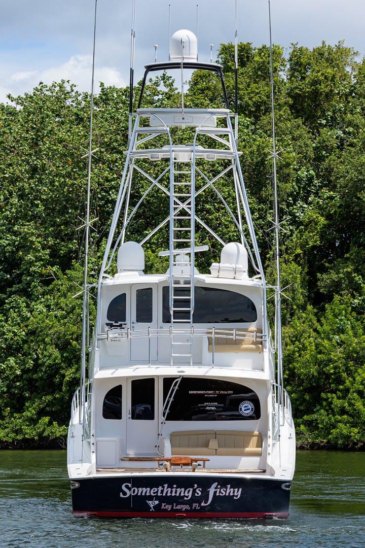 2015 Viking 70' Enclosed Bridge SOMETHING'S FISHY | Picture 7 of 56