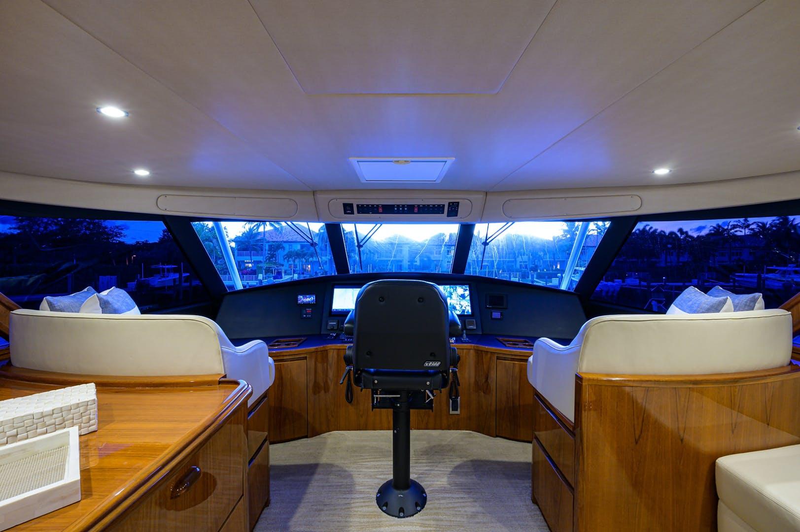 2015 Viking 70' Enclosed Bridge SOMETHING'S FISHY | Picture 8 of 56