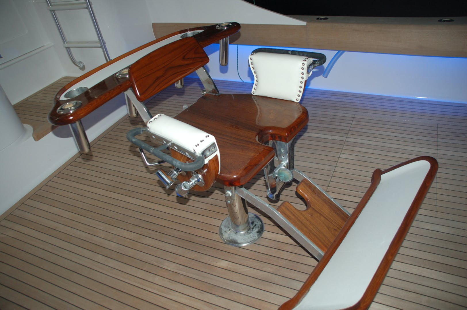 2004 Sculley 60' Custom 60 - Repowered & Gyro stabilized STEALIN TIME | Picture 4 of 77