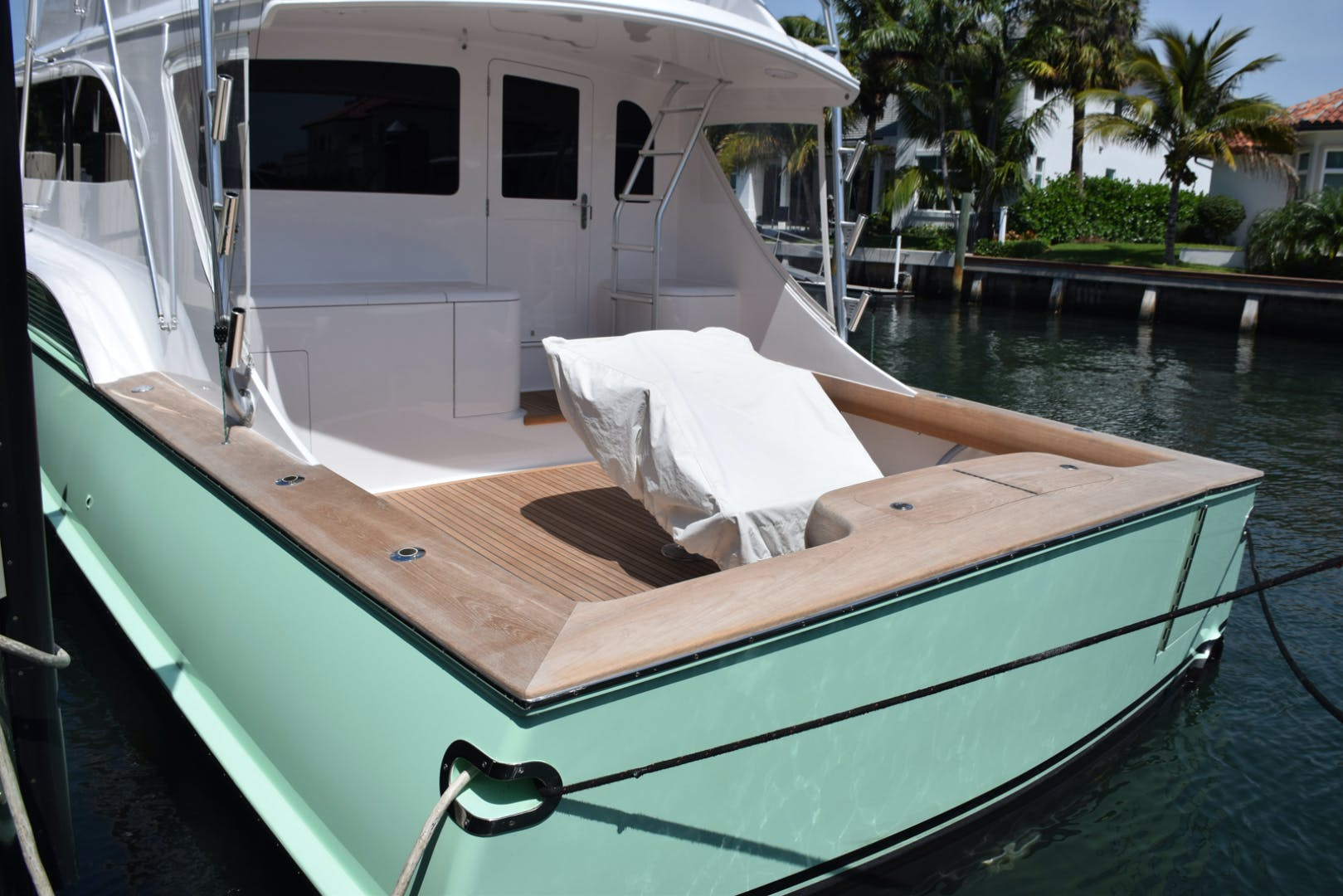 2004 Sculley 60' Custom 60 - Repowered & Gyro stabilized STEALIN TIME | Picture 3 of 77