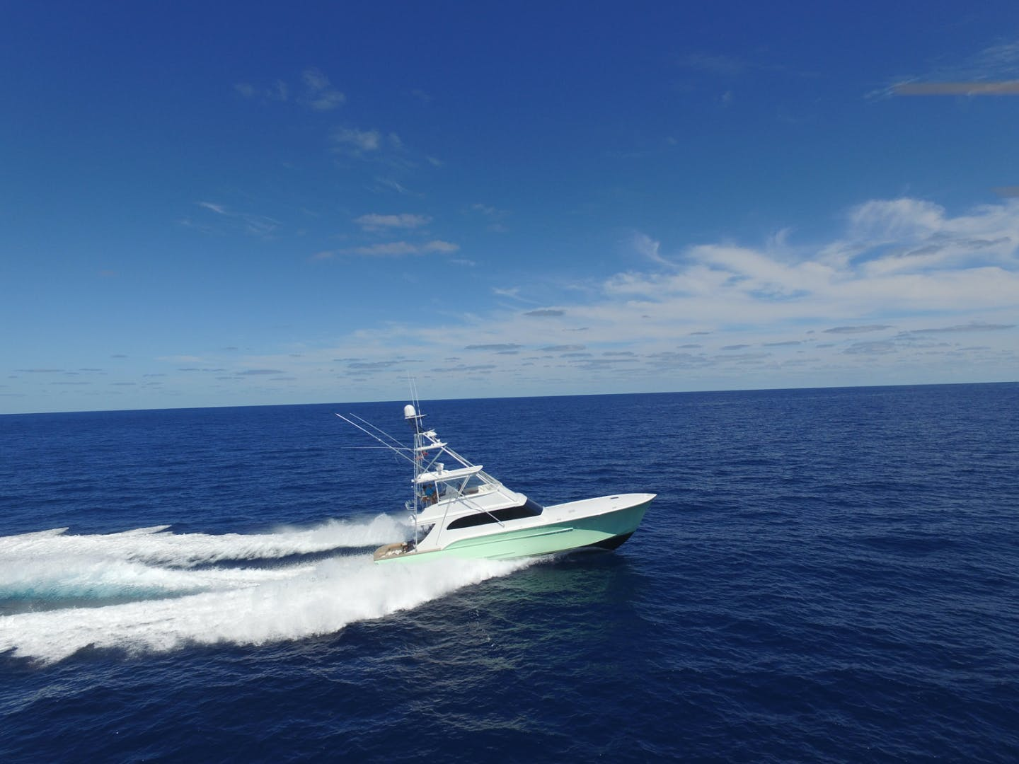 2004 Sculley 60' Custom 60 - Repowered & Gyro stabilized STEALIN TIME | Picture 1 of 77