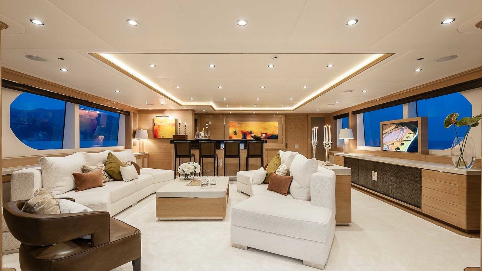 2014 Sunrise 147' Tri-Deck Motor Yacht ATOM | Picture 3 of 38