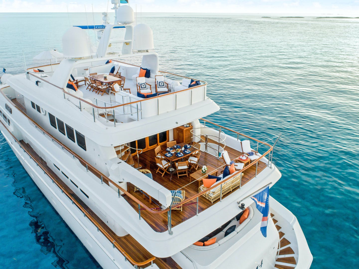1999 Trident 131' Tri-Deck Motor Yacht M4 | Picture 1 of 29