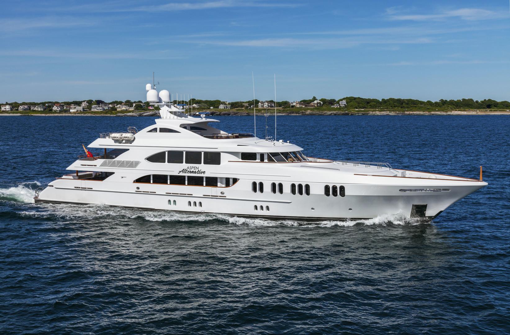 "2010 Trinity Yachts 164' Tri-Deck Motor Yacht ""ASPEN ALTERNATIVE"""