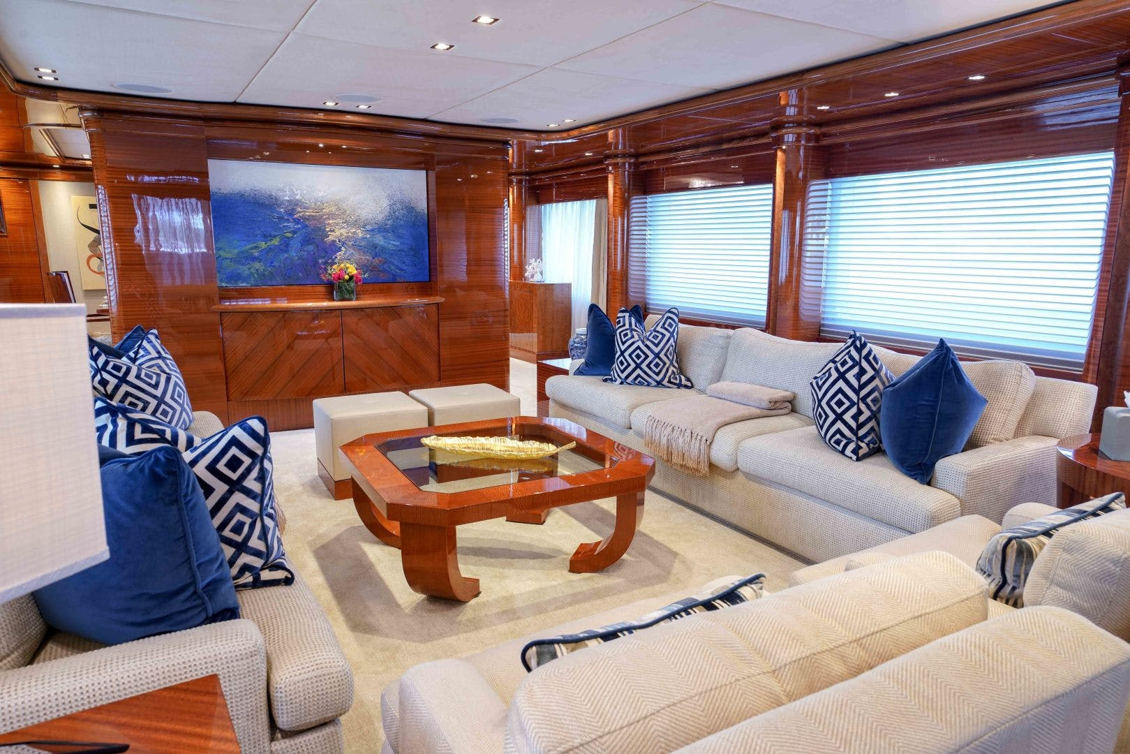 2010 Trinity Yachts 164' Tri-Deck Motor Yacht ASPEN ALTERNATIVE | Picture 8 of 30