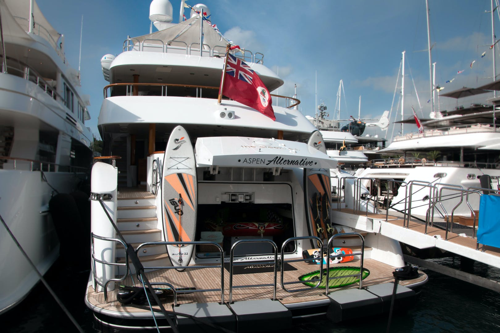 2010 Trinity Yachts 164' Tri-Deck Motor Yacht ASPEN ALTERNATIVE | Picture 4 of 30