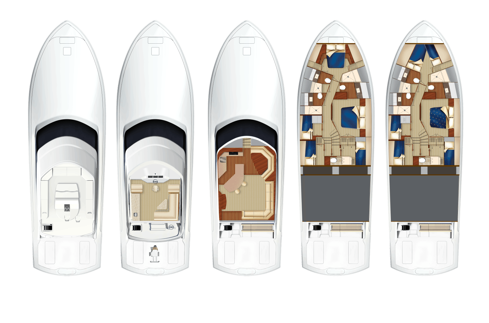 2021 Hatteras 70' GT70 GT70 | Picture 7 of 7