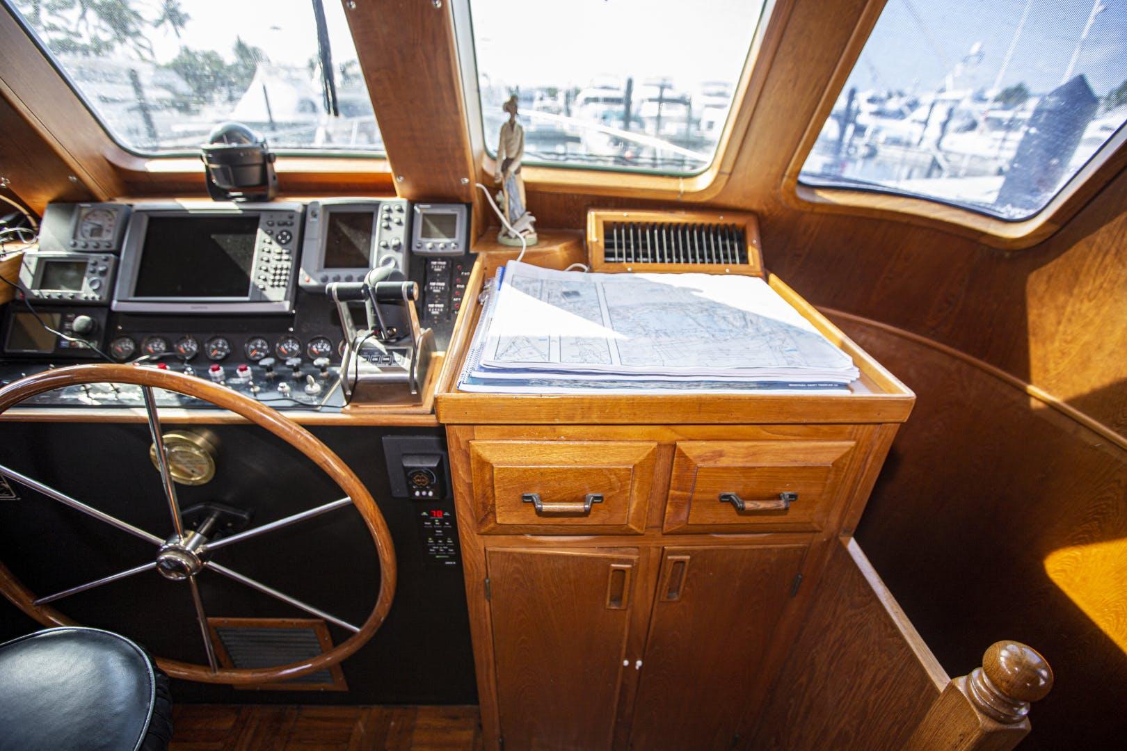 1987 DeFever 60' Cockpit LRC Wanderer | Picture 7 of 74