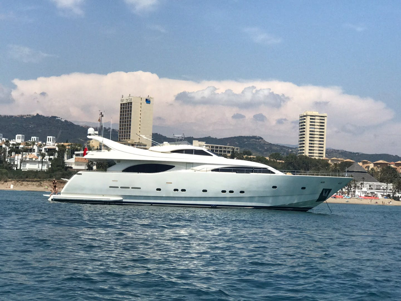 1999 Ferretti Yachts 94' Custom Line 94  | Picture 1 of 13