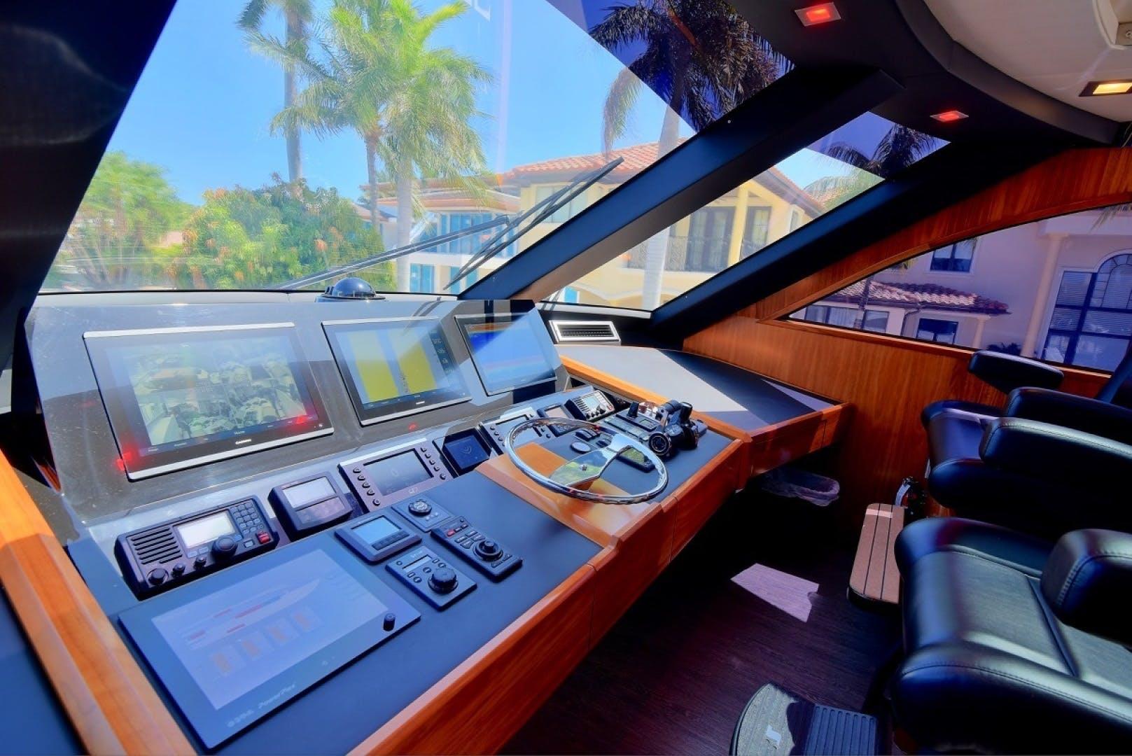 2017 Viking 75' Motor Yacht Neenah | Picture 8 of 69