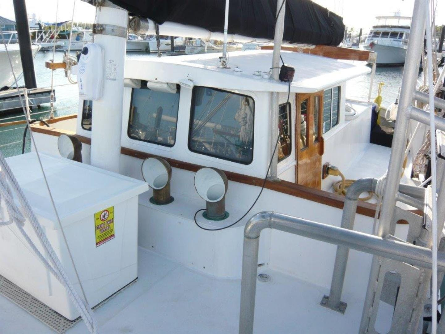 1988 Treworgy 57' Trade Rover Conch Pearl | Picture 5 of 69