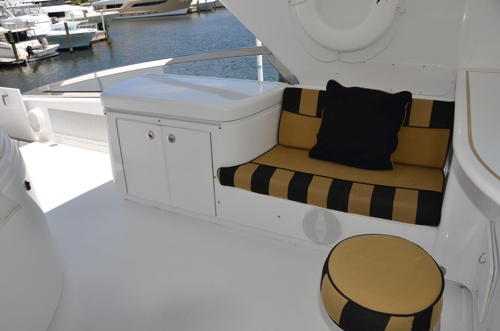 2004 Hatteras 80' Motor Yacht SEA DOZER | Picture 8 of 73