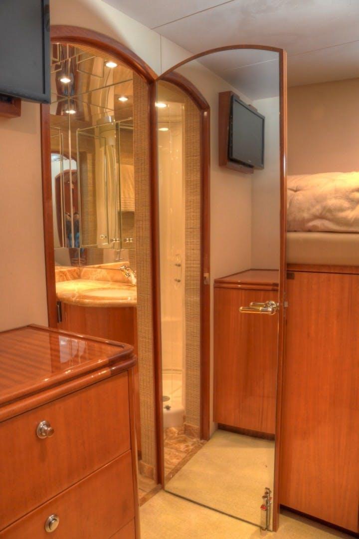 2004 Hatteras 80' Motor Yacht SEA DOZER | Picture 7 of 73