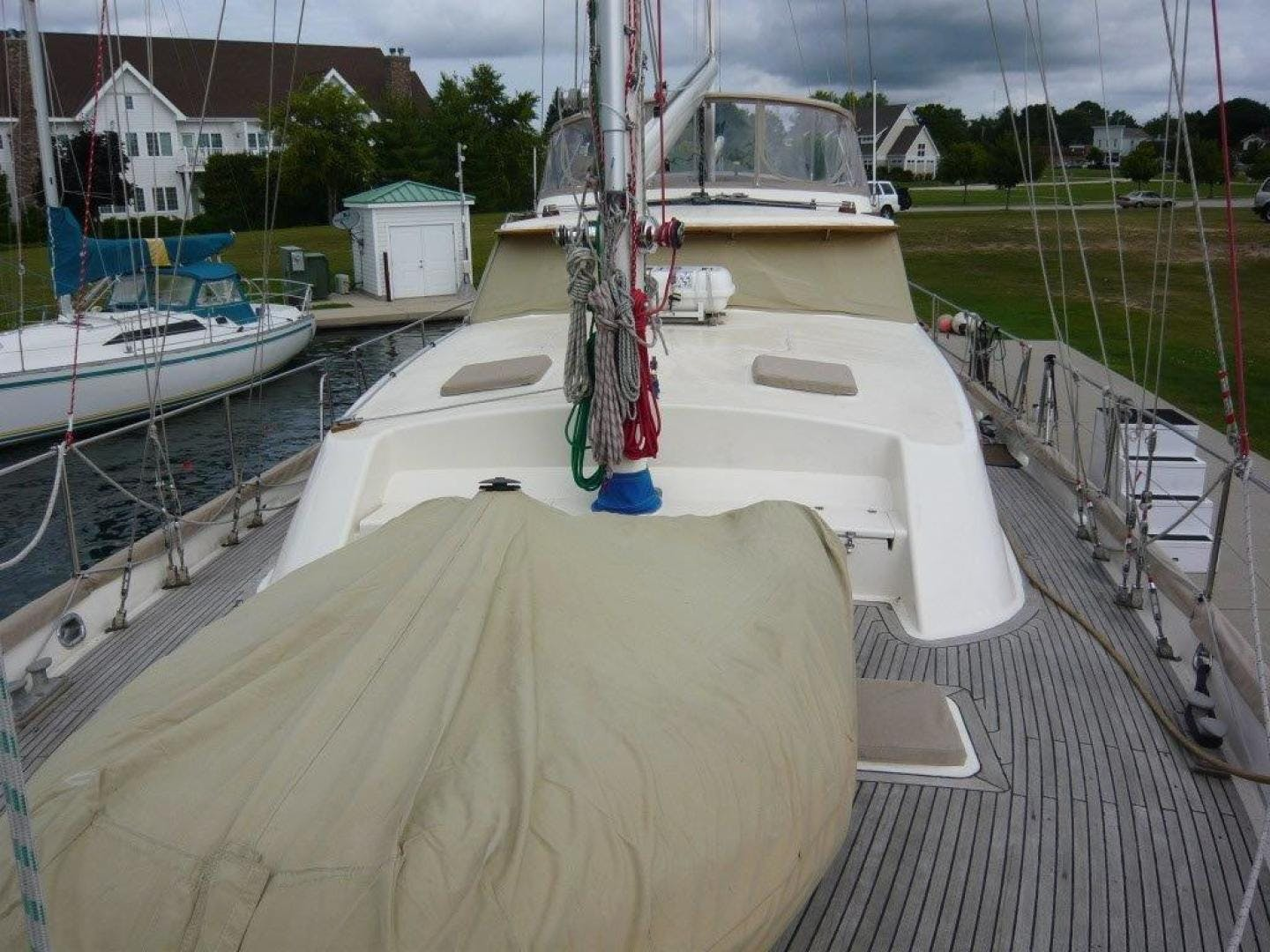 1983 Cheoy Lee 63' Pilothouse Motor Sailor Beleza | Picture 5 of 121
