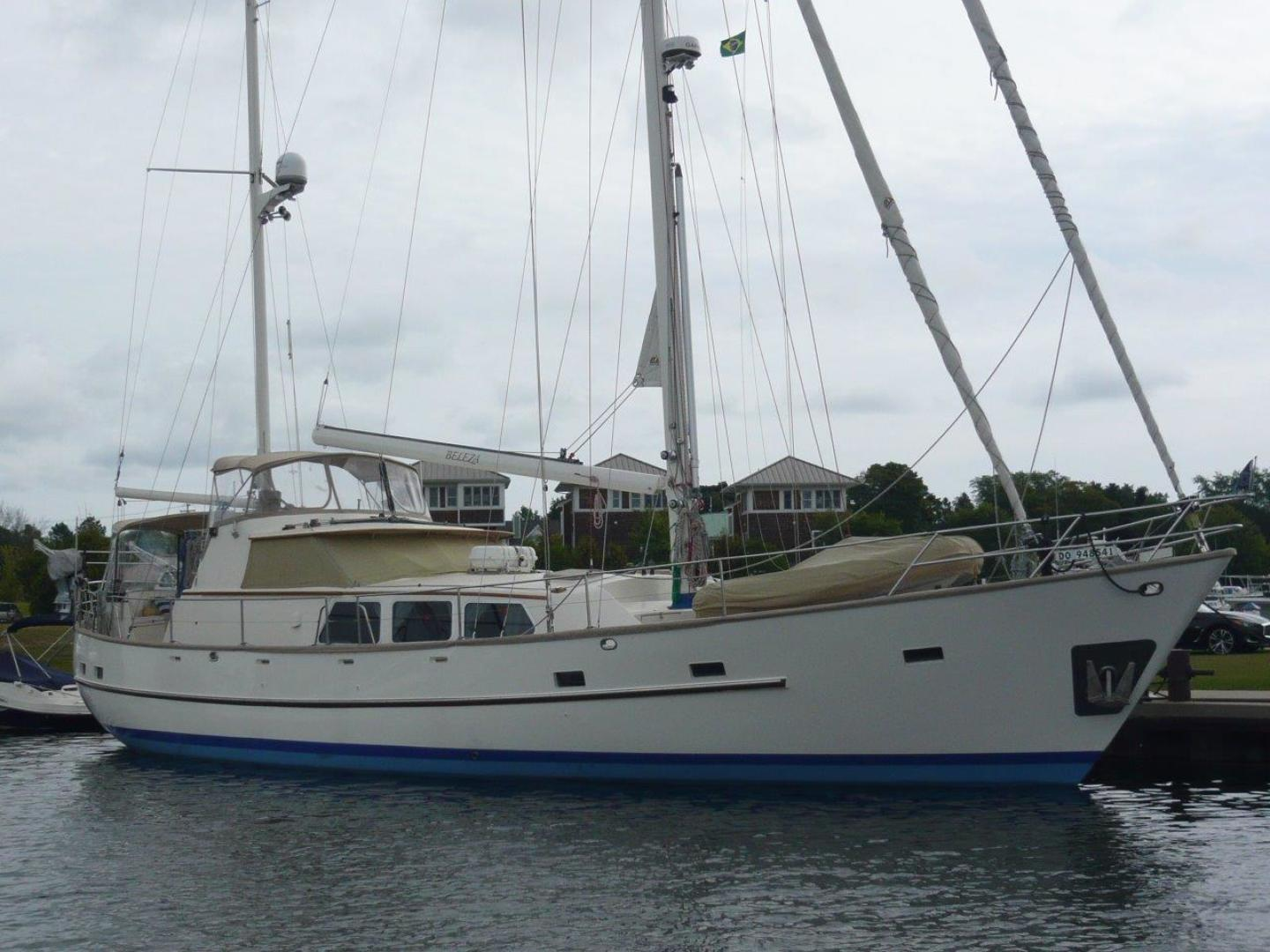 63' Cheoy Lee 1983 Pilothouse Motor Sailor Beleza