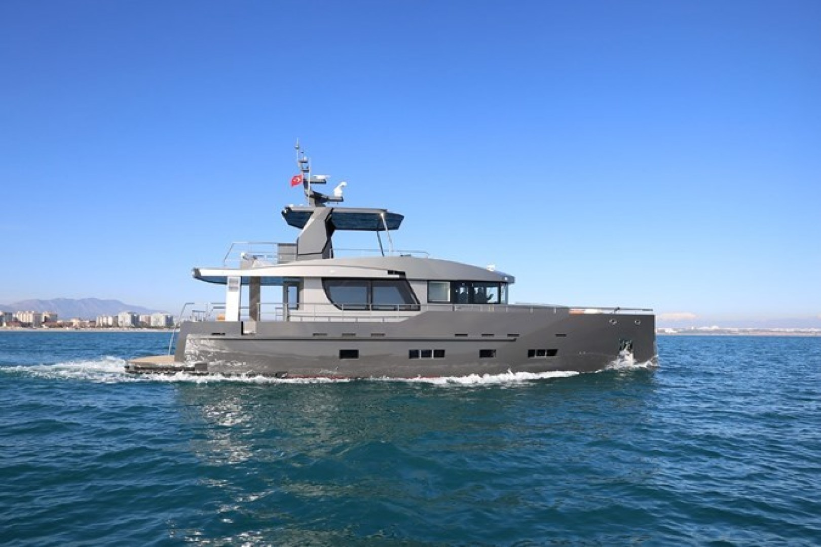 70' Bering 2019 Expedition Yacht Expedition Yacht
