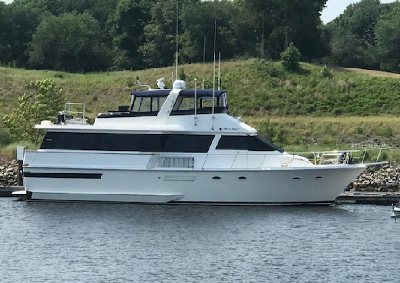 1989 Viking 63' 63 Widebody Motoryacht