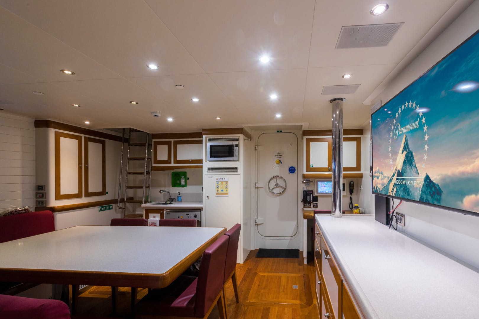 2012 Cheoy Lee 150' Custom Marco Polo Displacement  QING | Picture 5 of 45
