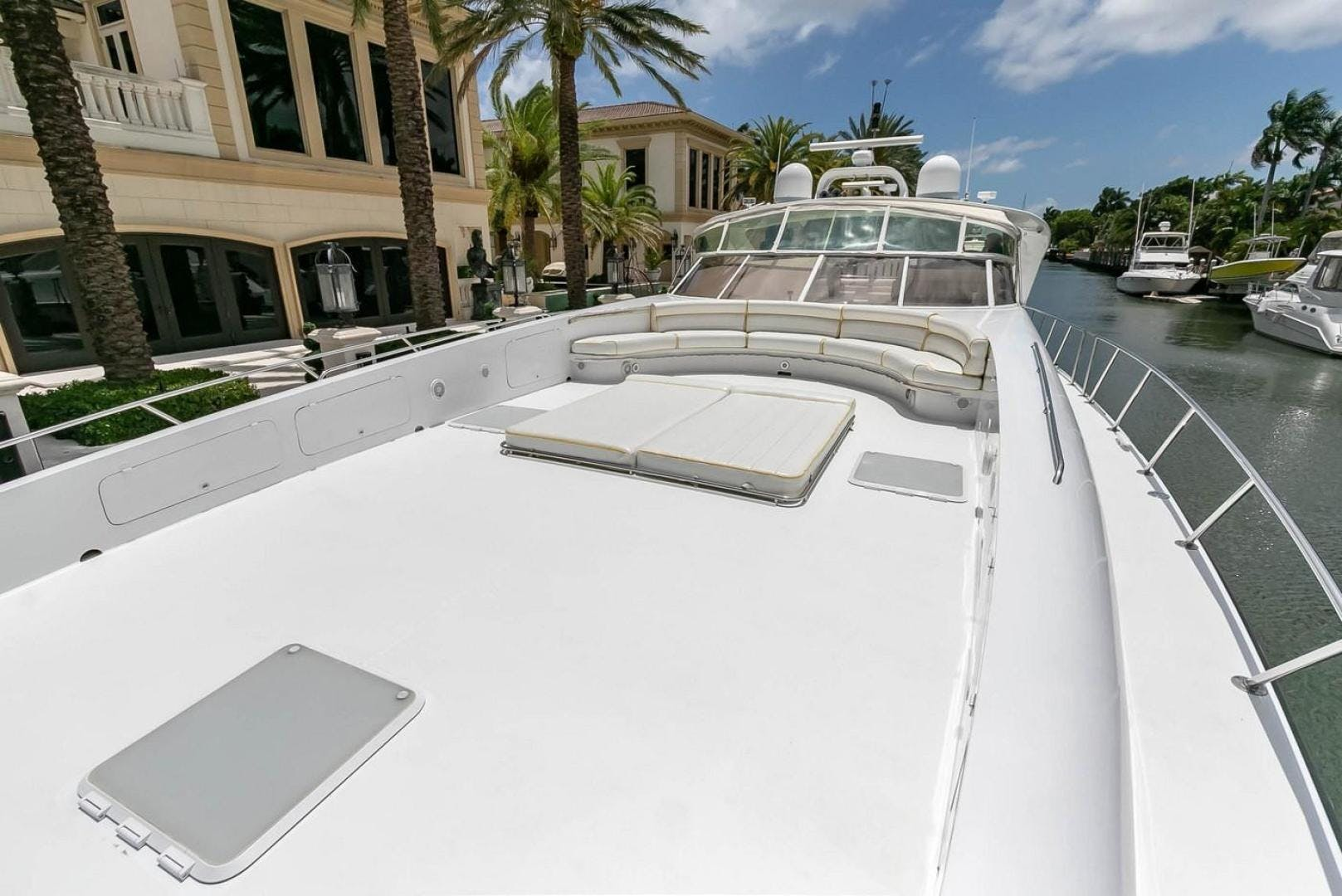 2004 Custom 85' Shoell Express Motor Yacht Purely Pleasure | Picture 1 of 110