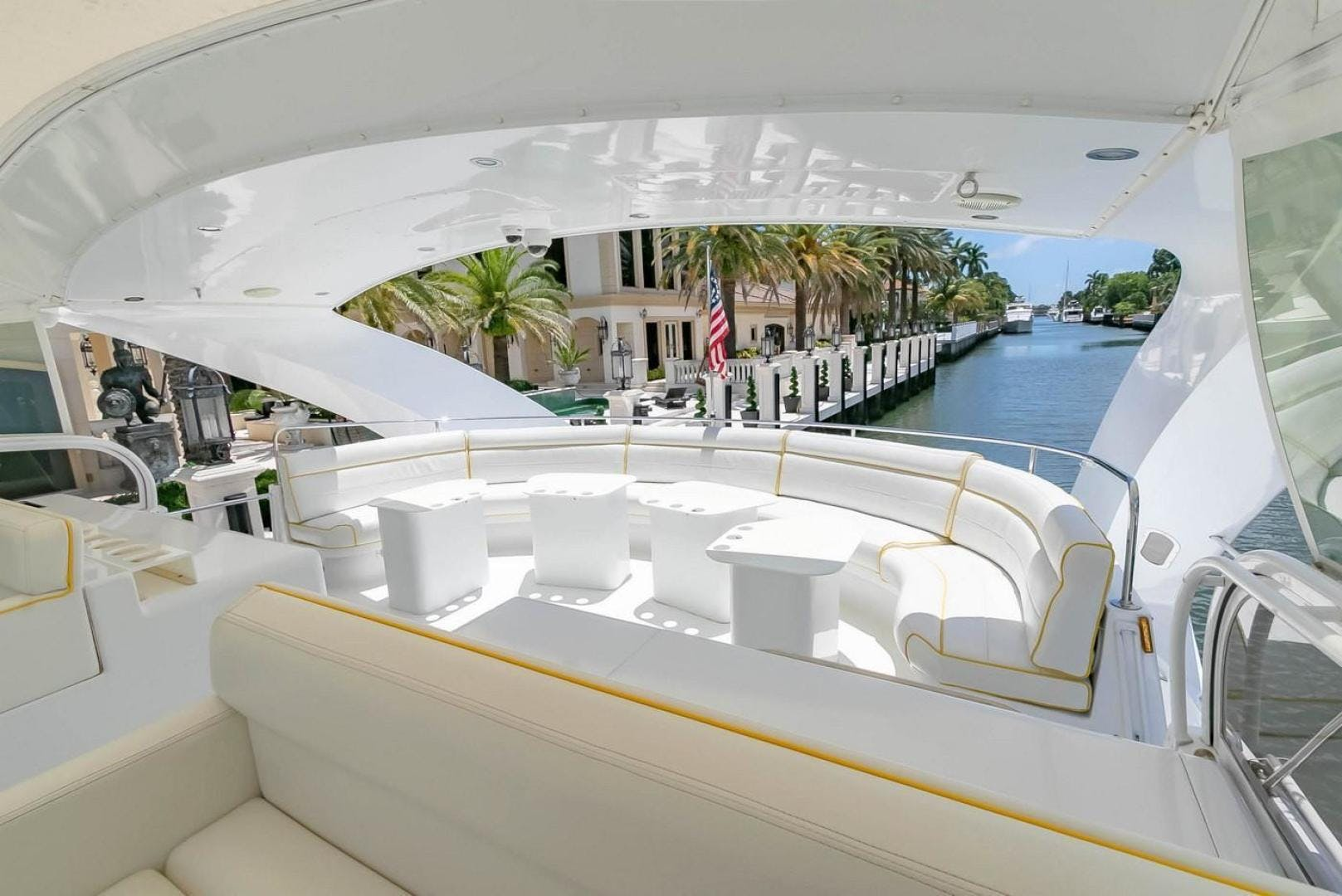 2004 Custom 85' Shoell Express Motor Yacht Purely Pleasure   Picture 1 of 110