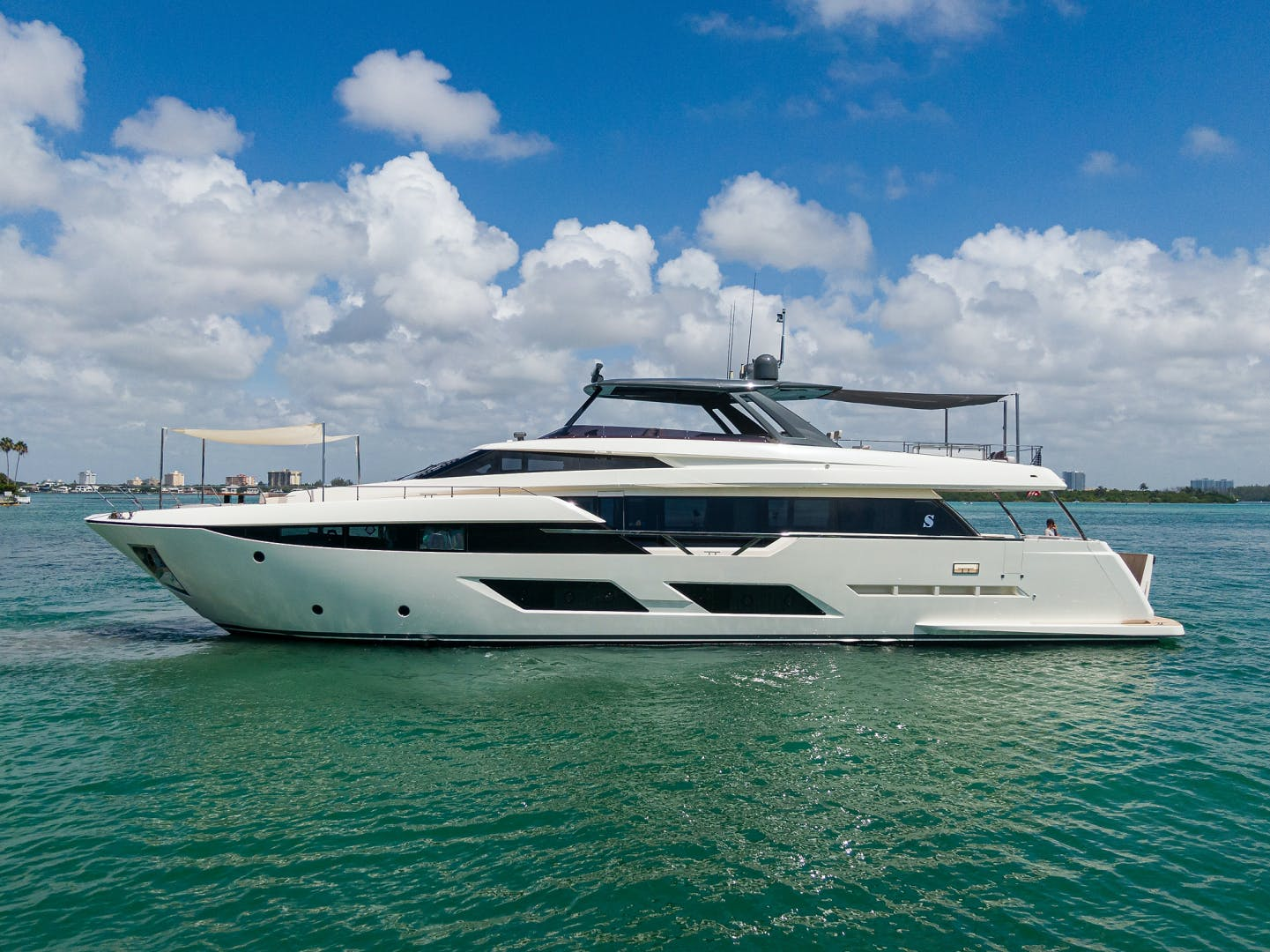 2018 Ferretti Yachts 92' 920 S | Picture 1 of 108