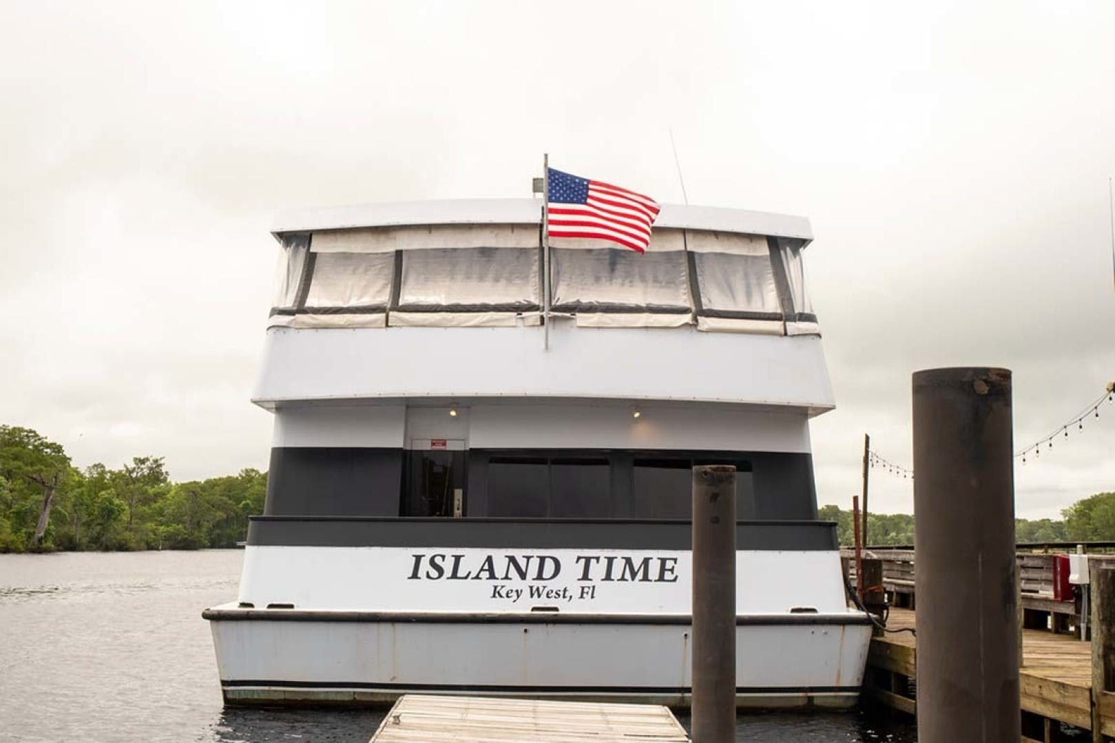 1993 Custom 90' Freeport 150 Passenger Island Time | Picture 5 of 76