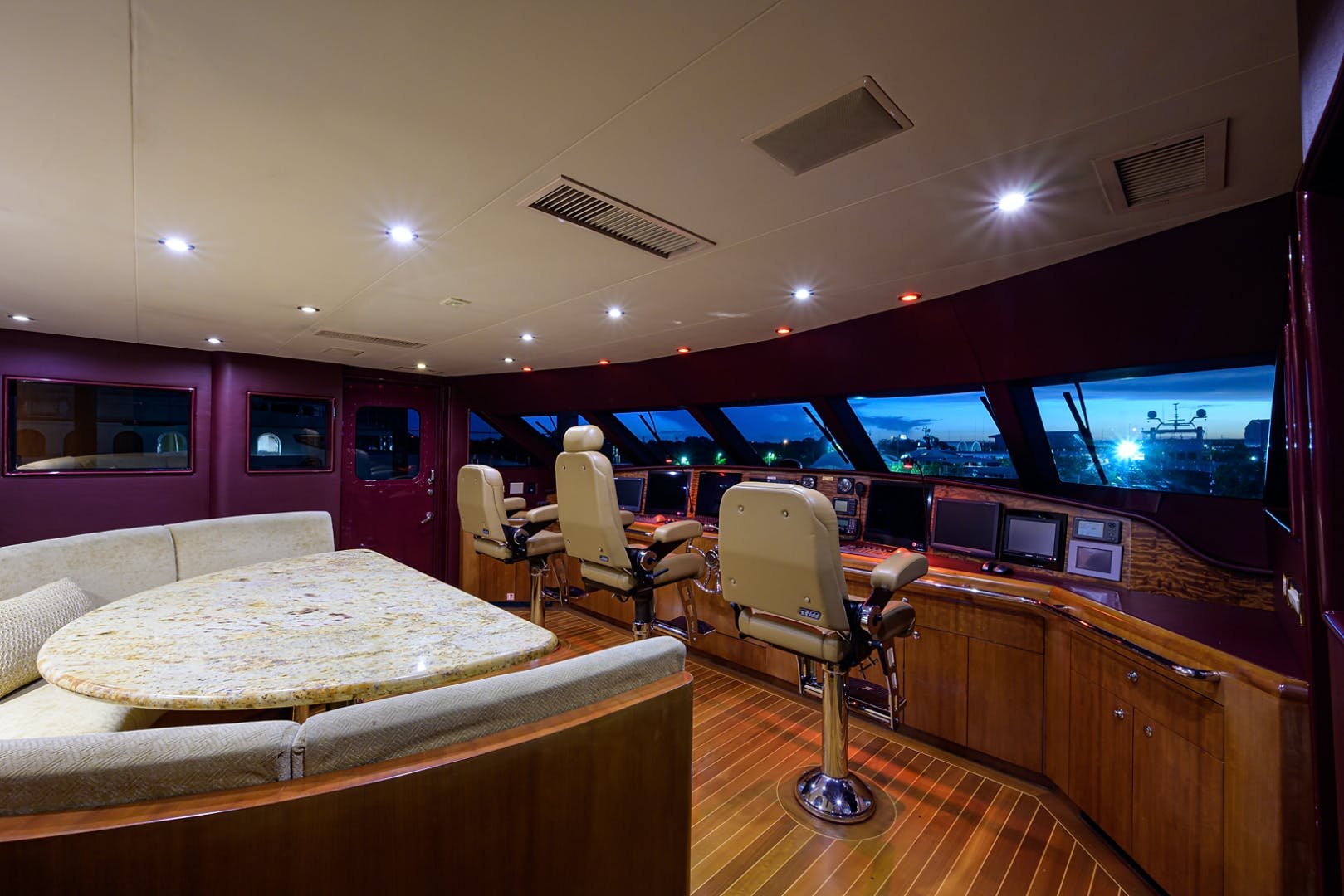 2003 Cheoy Lee 125' Enclosed Pilothouse NICOLE EVELYN | Picture 6 of 56