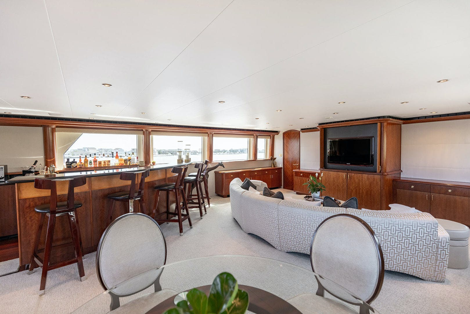2003 Cheoy Lee 125' Enclosed Pilothouse NICOLE EVELYN | Picture 3 of 55