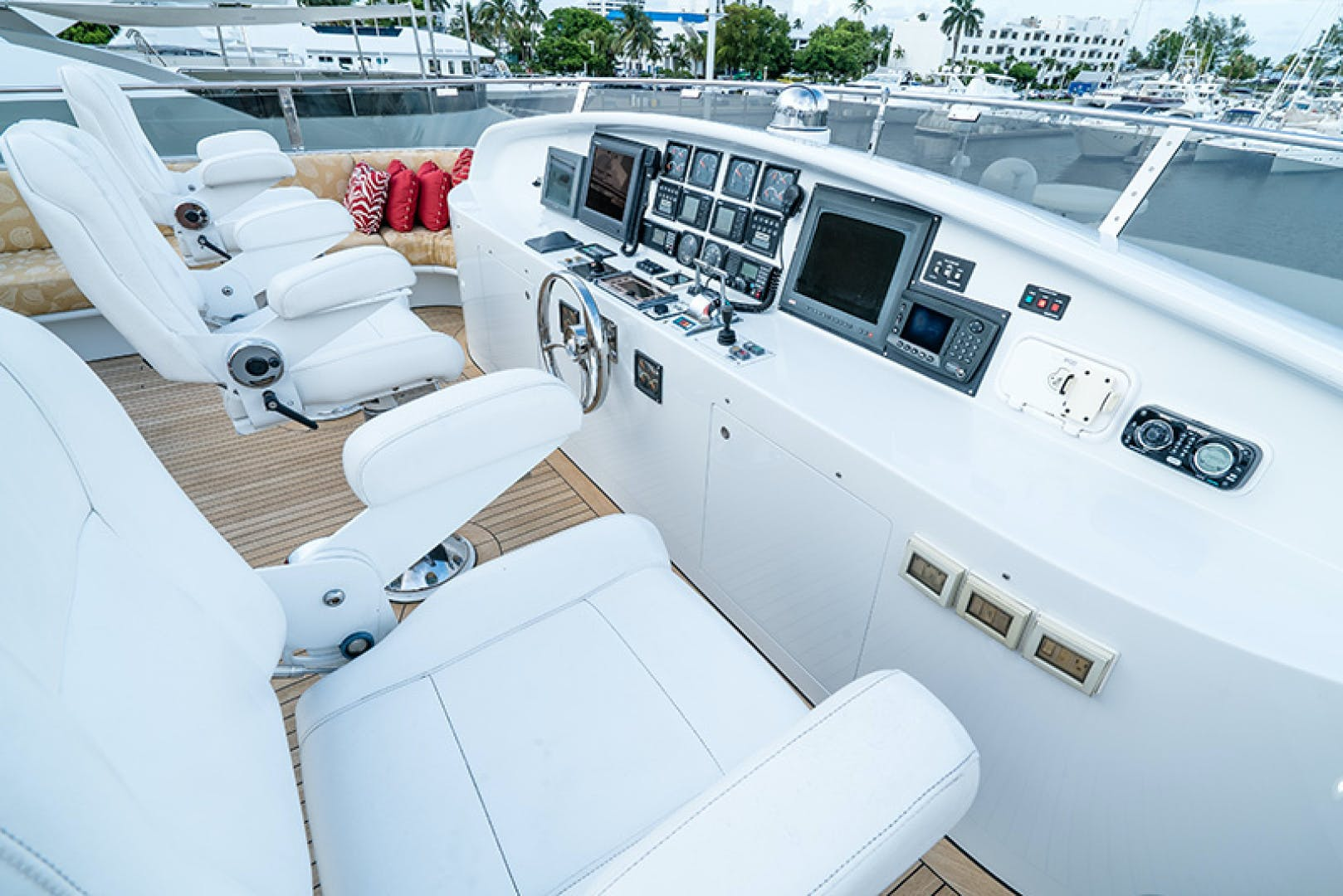 2003 Cheoy Lee 125' Enclosed Pilothouse NICOLE EVELYN | Picture 8 of 56