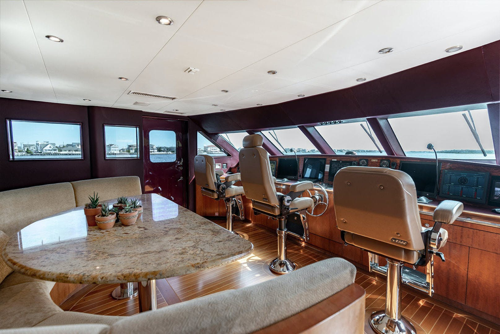 2003 Cheoy Lee 125' Enclosed Pilothouse NICOLE EVELYN | Picture 8 of 55