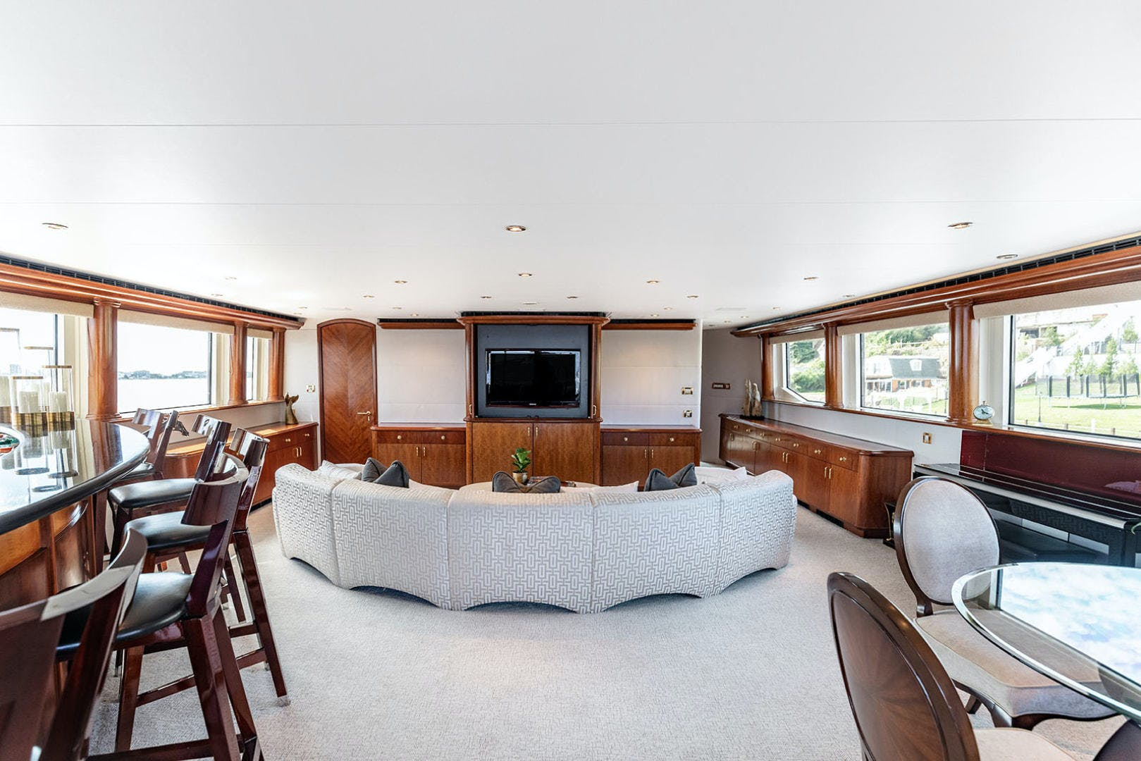 2003 Cheoy Lee 125' Enclosed Pilothouse NICOLE EVELYN | Picture 2 of 55