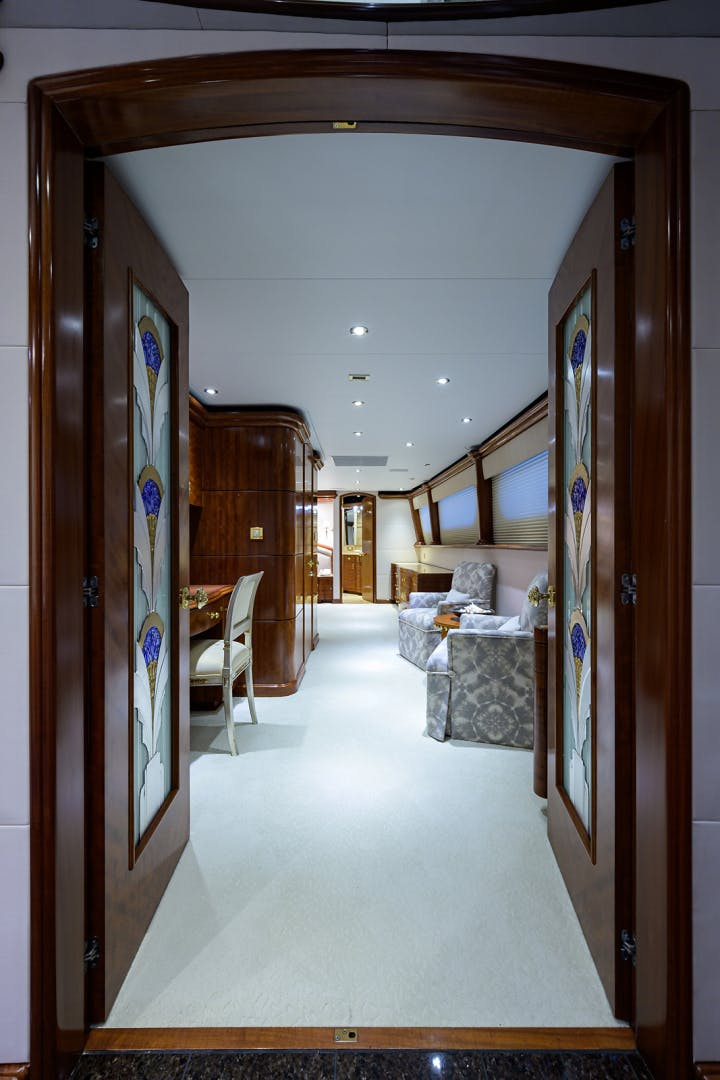 2003 Cheoy Lee 125' Enclosed Pilothouse NICOLE EVELYN | Picture 1 of 56